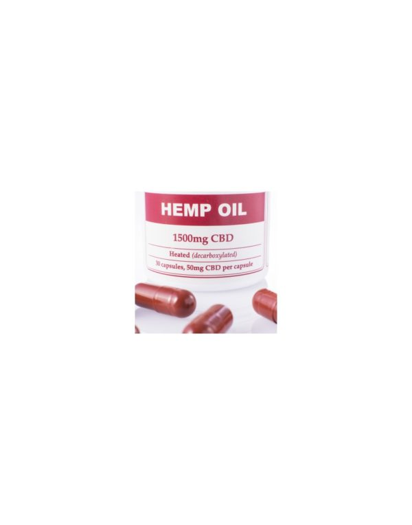 Capsules Hemp Oil Total:1500mg CBD