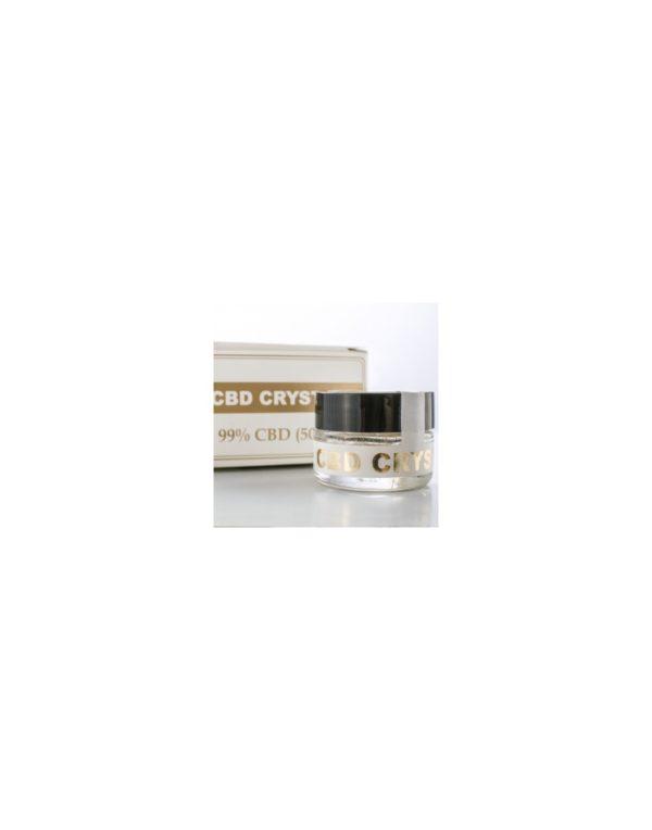 Endoca Κρύσταλλοι Κάνναβης 98% CBD - 500mg λεπτομέρεια κρυστάλλων