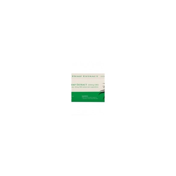 CBD Suppositories Endoca 500mg - 10pcs