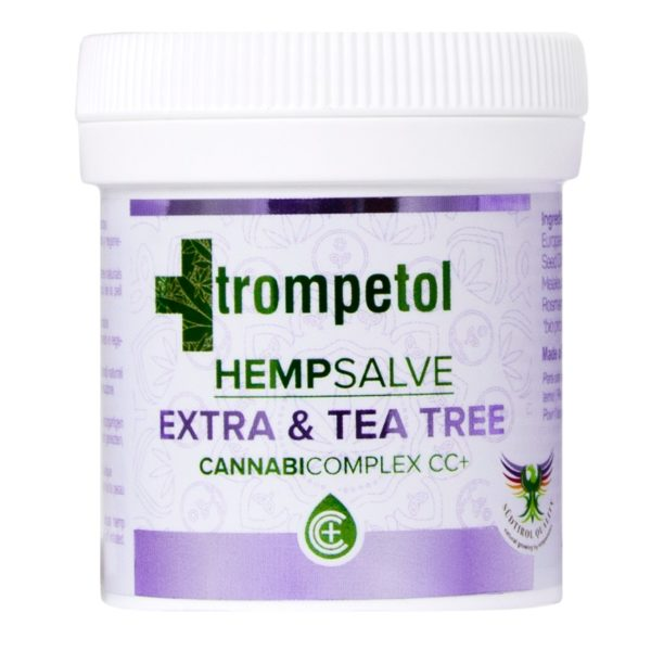 Trompetol Hemp Salve Extra & Tea Tree με περιεχόμενο 100ml.