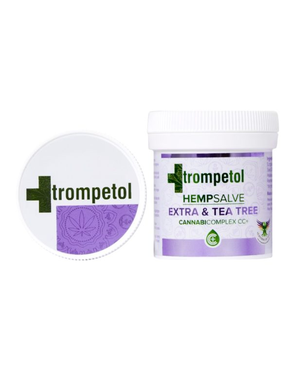 Trompetol Hemp Salve Extra & Tea Tree