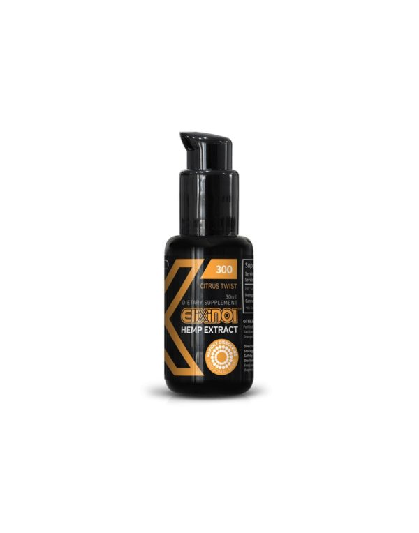 Elixinol hemp extract liposomes 300mg (30ml) Citrus Twist