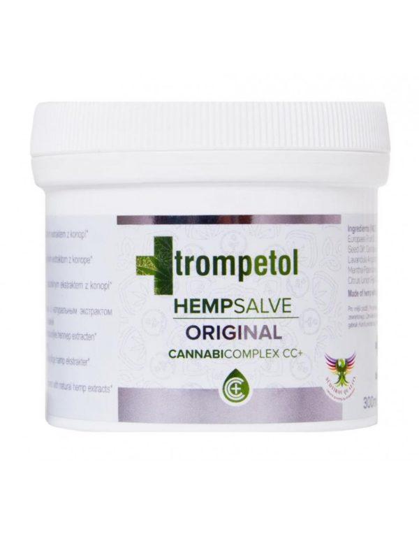 Αλοιφή κάνναβης Trompetol με κανναβιδιόλη (CBD)