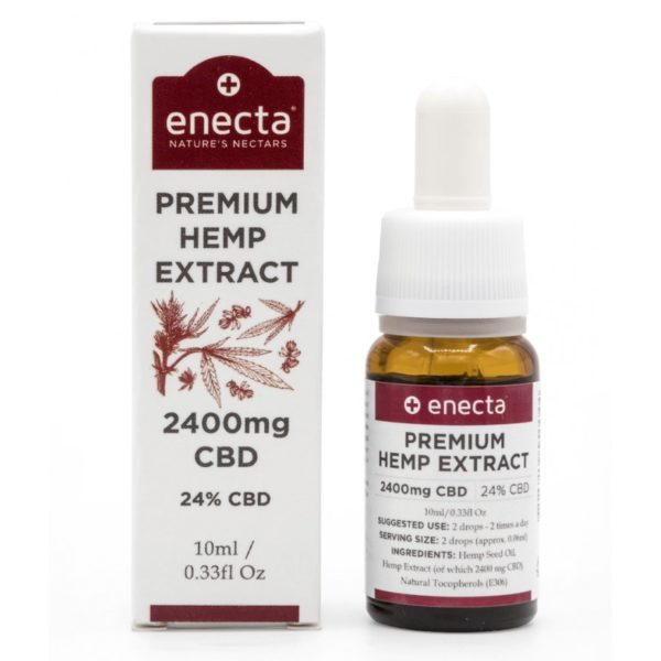 Enecta 24% CBD Oil 2400mg - 10ml