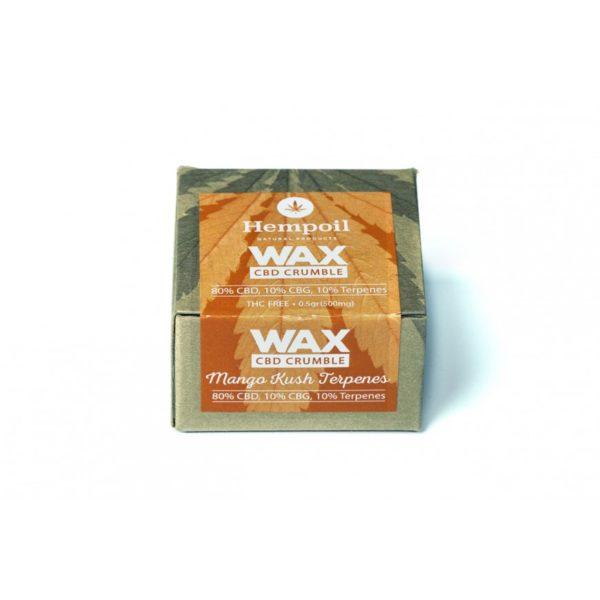 Wax CBD & CBG Crumble | Mango Kush Terpenes - 500mg