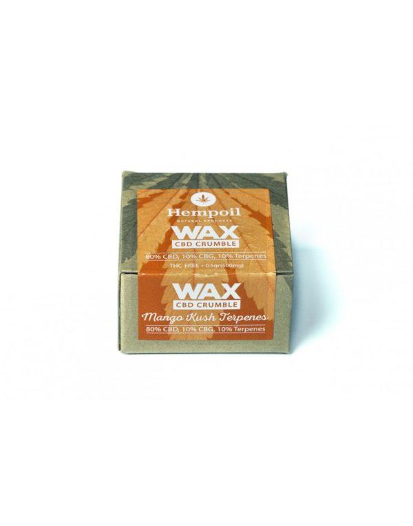 Wax CBG & CBG Crumble | Mango Kush Terpenes - 500mg