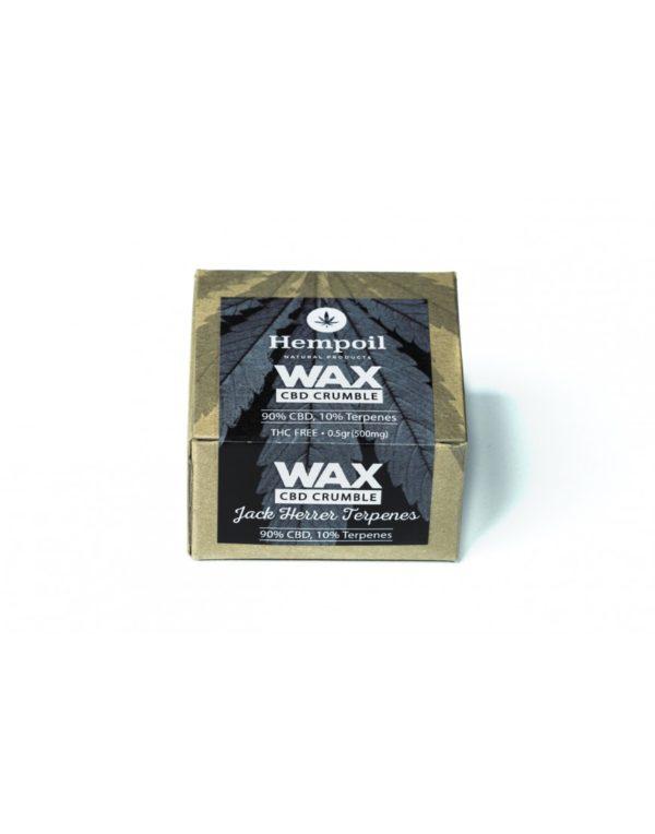 Wax CBD Crumble | Jack Herrer Terpenes - 500mg