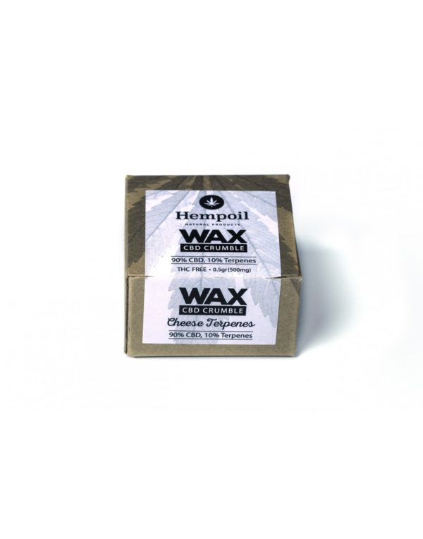 Wax CBD Crumble | Cheese Terpenes - 500mg