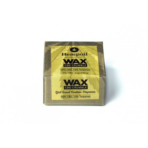 Wax Cbd Crumble | Girl Scout Cookies Terpenes - 500mg