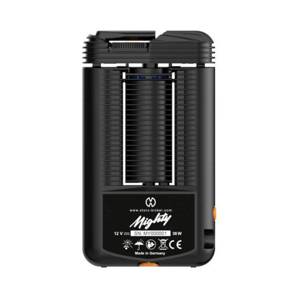 Mighty Vaporizer | Storz & Bickel back side. Best available cannabis vaporizer