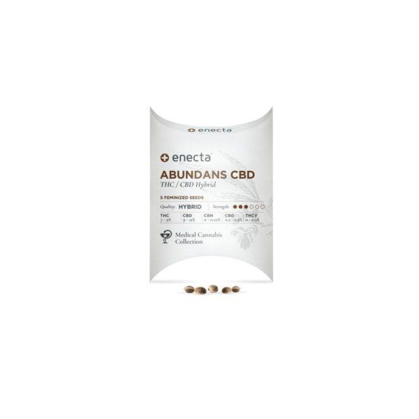 Enecta | Abundans CBD Feminized Cannabis Seeds - 5pcs