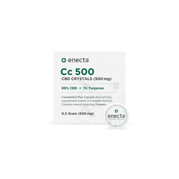 Cc500 - CBD Crystals 500mg