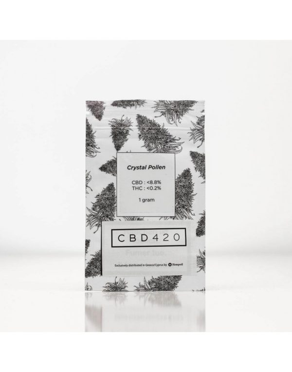 Cristal Pollen CBD420 1gr