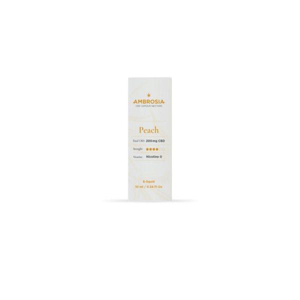 Ambrosia CBD 200mg Aroma Peach - 200mg