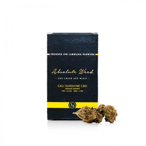 Cali Sunshine CBD Flowers - Absolut Weed 1gr