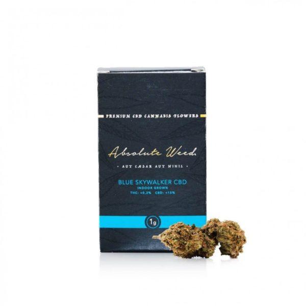 Blue Skywalker CBD Flowers - Absolut Weed 1gr