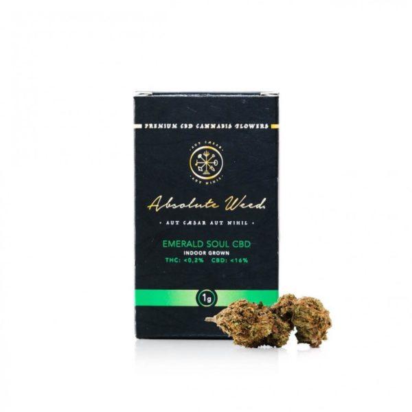 Emerald Soul CBD Flowers - Absolute Weed 1gr