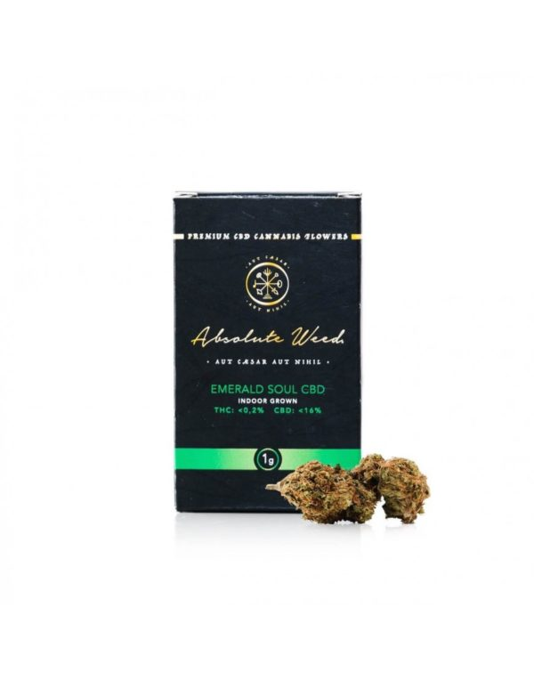 Emerald Soul CBD Flowers - Absolute Weed 1gr