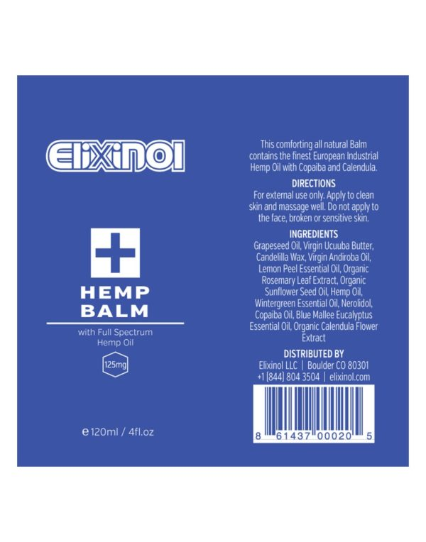 CBD Tincture – Hemp Oil Drops 200mg CBD – Natural Flavor from Elixinol in a blue bottle Super Critical Extraction Full Spectrum label