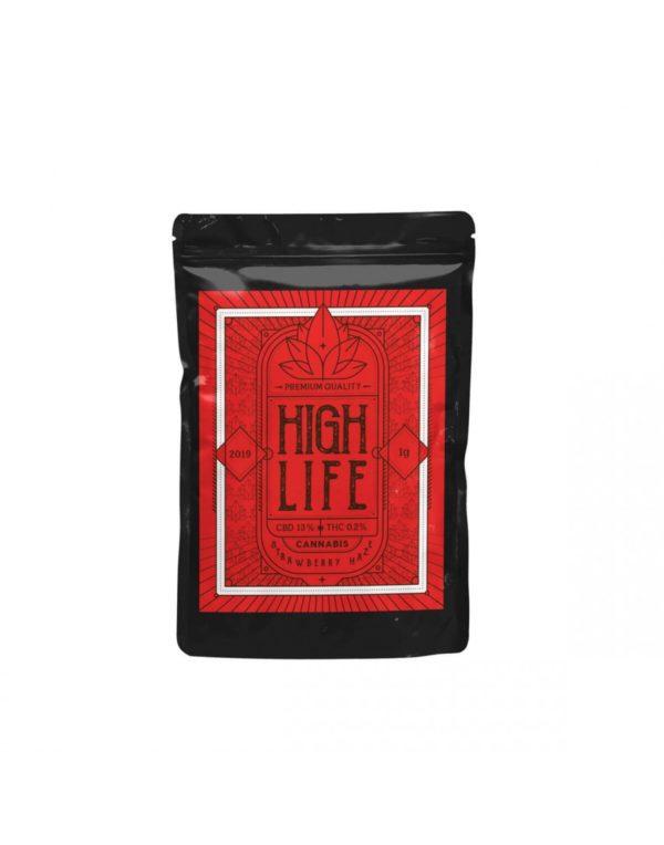 High Life - Strawberry Haze Flowers 1gr