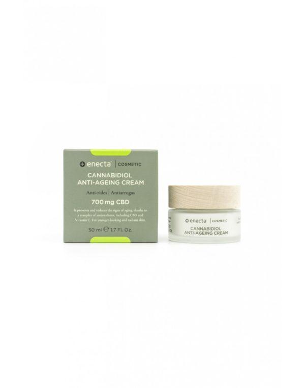 Cannabidiol Anti-Ageing Cream Αντιρυτιδική Κρέμα με Κανναβιδιόλη CBD 700mg σε βαζάκι 50ml.