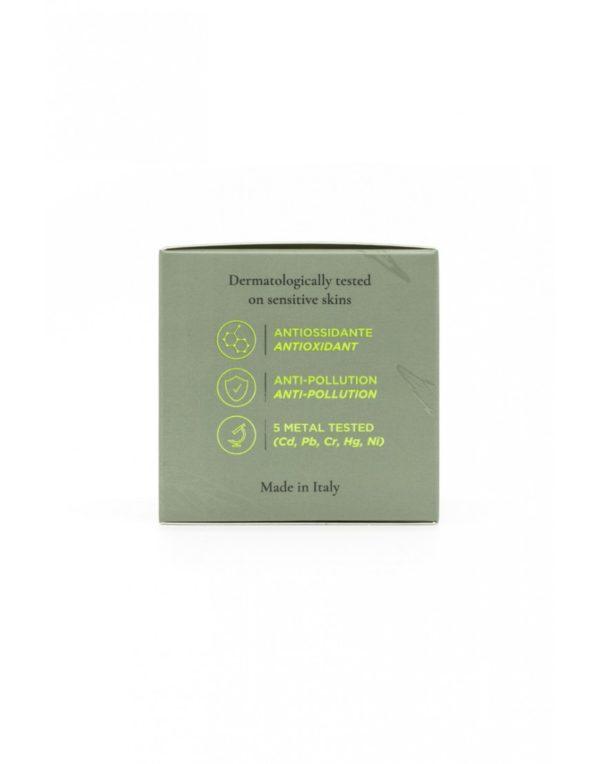 Cannabidiol Anti-Ageing Cream Αντιρυτιδική Κρέμα με Κανναβιδιόλη CBD 700mg σε βαζάκι 50ml, πίσω πλευρά