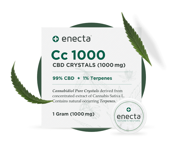 CBD Crystals from enecta