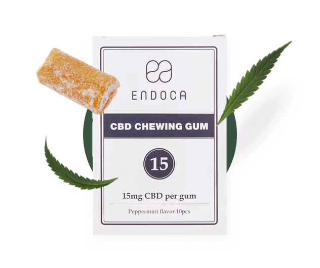 CBD Gums product from endoca.