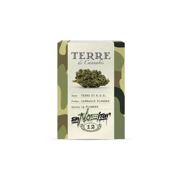 Terre Di Noe X Noe enNOEitai - Cannabis flower (cbd flower) 1gr packaging