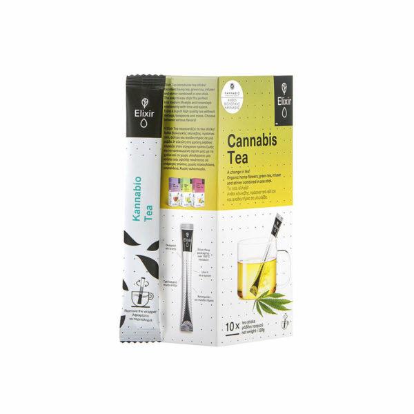 Elixir Tea Kannabio - 10pcs