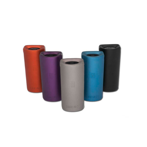 DaVinci Miqro Vaporizer color range for dry herbs, oil, wax, cbd flowers.