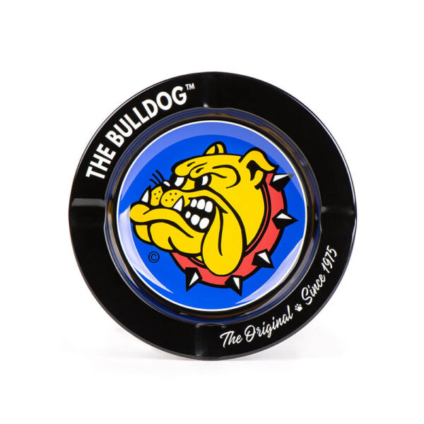 The Bulldog Amsterdam Metal (Tin) Ashtray