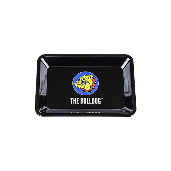 The Bulldog Amsterdam Rolling Tray for twisting your tobacco and hemp flower cigarettes.