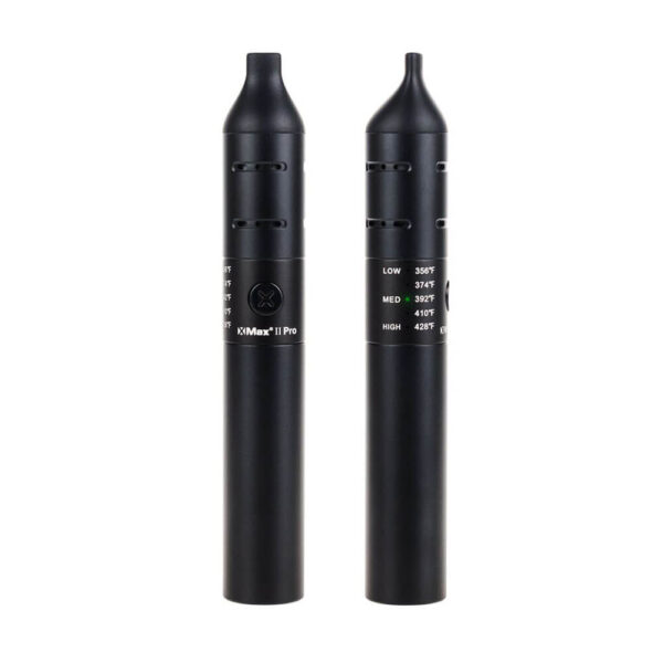 XMAX V2 Pro Vaporizer Black for dry herbs, cbd flowers, oil, wax.