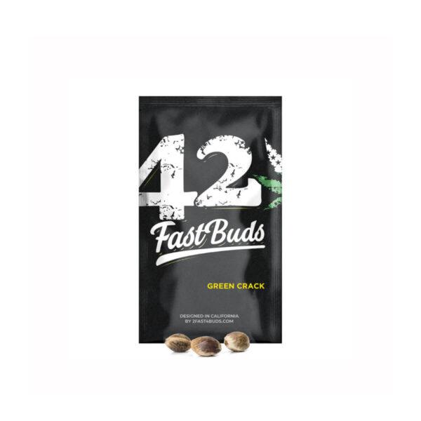 Fast Buds | Αυτόματοι Σπόροι Κάνναβης - Green Crack Auto – κεντρική φωτογραφία