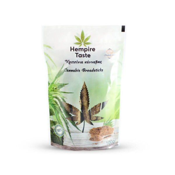 Hempire Taste | Cannabis Breadsticks - 100gr handmade in Greece.