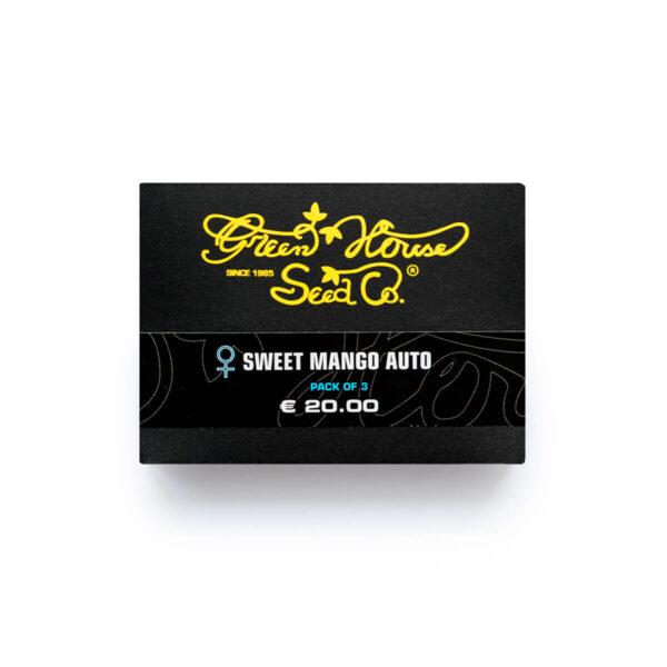Green House Seeds | Αυτόματοι Σπόροι Κάνναβης – Sweet Mango Auto – 3τεμ - φωτογραφία συσκεβασίας