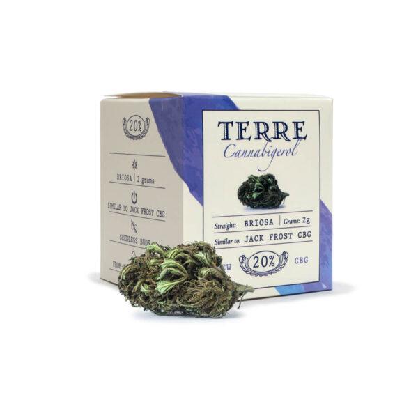 Terre Di Cannabis Briosa CBG - 2gr. - products packaging - 2