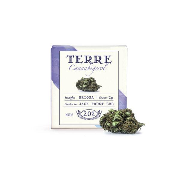 Terre Di Cannabis Briosa CBG - 2gr. - photo package