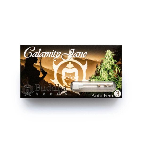 Buddha Seeds | Αυτόματοι Σπόροι Κάνναβης – Calamity Jane Auto – 3τεμ - φωτογραφία συσκευασίας