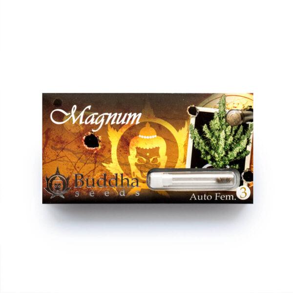 Buddha Seeds | Autoflowering Cannabis Seeds – Magnum Auto – 3pcs - packaging photo