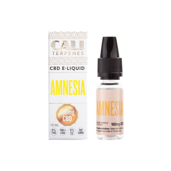 E-Liquid CBD (100mg) | Amnesia - 10ml - φωτογραφία προϊόντος