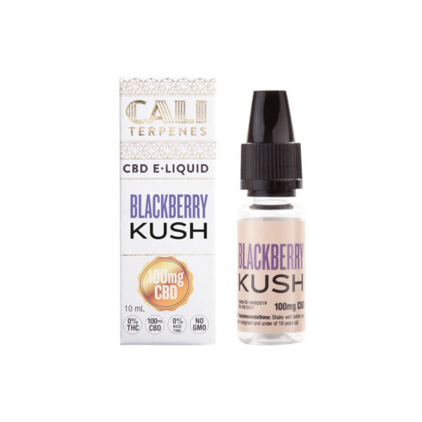 E-Liquid CBD (100mg) | Blackberry Kush - 10ml - product photo