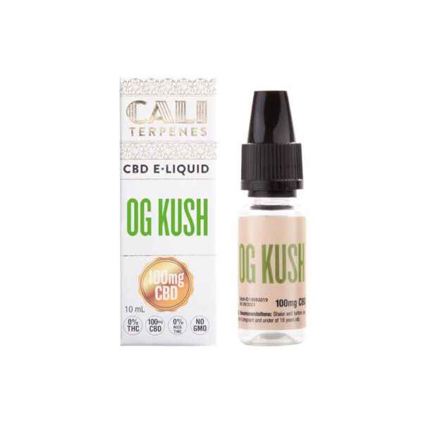 E-Liquid CBD (100mg) | OG Kush - 10ml - product photo