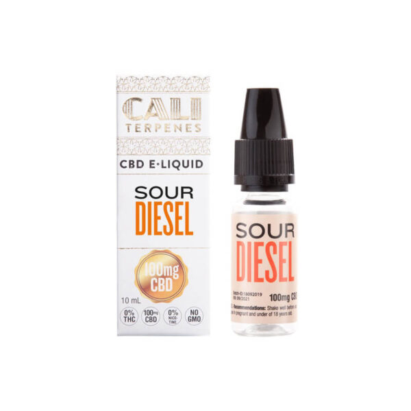E-Liquid CBD (100mg) | Sour Diesel - 10ml - product photo