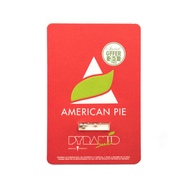 Pyramid Seeds | Feminized Cannabis Seeds – American Pie – 3+1pcs - packaging photo