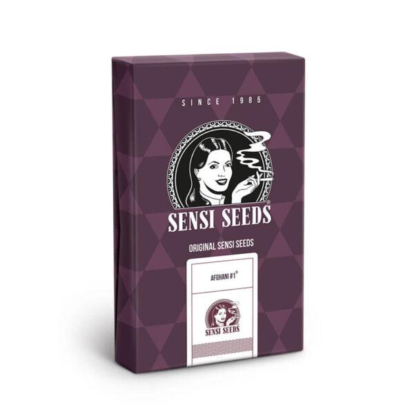Sensi Seeds | Feminized Cannabis Seeds - Afghani #1 - seeds package
