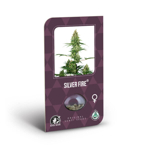 Sensi Seeds | Θηλυκοί Σπόροι Κάνναβης - Silver Fire εσωτερική συσκευασία.
