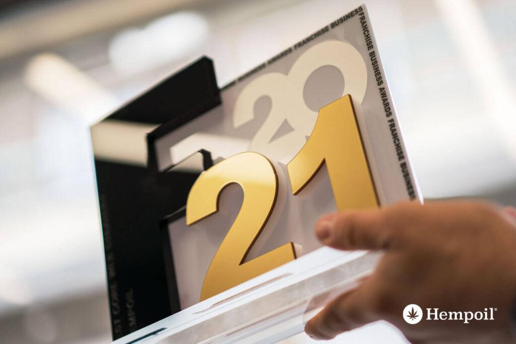 Βραβείο business web core strategy awards στη πρώτη εταιρεία κάνναβης στην Ελλάδα.